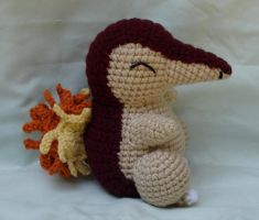 cyndaquil amigurumi 3 by TheArtisansNook