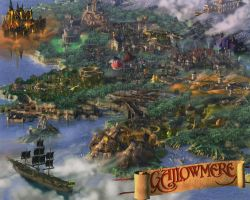Map of Gallowmere (Resurrection) by greece4life