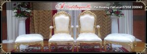 Wedding Chairs by Williamrubixion