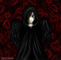 Pit: a dark fallen angel by Zilkenian