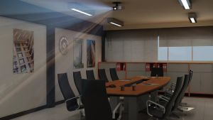 Meeting Room of Construction D by 1zmim