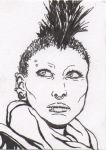 Lisbeth Salander - The Girl with the Dragon Tattoo by DieselNYC