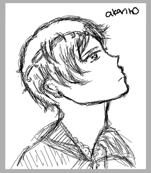 crap sketch of shu once again by akarin0