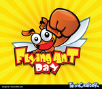Flying Ant Day - Mascot Logo by hackerkuper