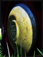 Green Hubcap by Vipallica