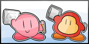 Kirby Tuesday-Kirby Icon by thegamingdrawer
