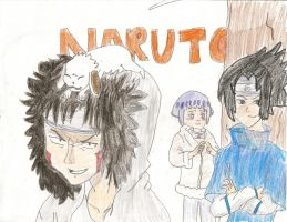 Naruto Collage by The1980sKunoichi