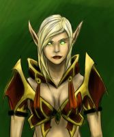 Blood Elf Coloured by TheBoyofCheese