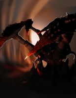 Outcast Odyssey Cave Monster by Ravager26