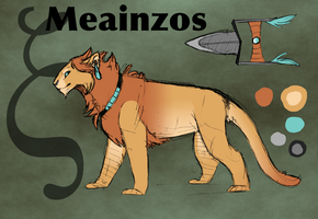 Nemean Lion- Meainzos by SuperRara
