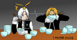 DGM-FMA: Eating contest by Heliotrope-Housecat