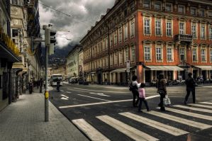 Summer in Innsbruck V by Michela-Riva
