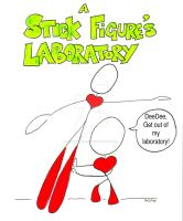 A Stick Figure's Laboratory by SophlyLaughing