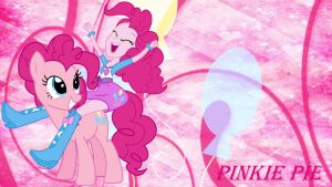 Pinkie Pie Pony Eg Wallpaper by pegasister1000