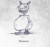 of Monsters and Mushrooms p2 by lafhaha