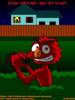Elmo watches you at night by TheRealSneakers