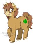 Pony Art Trade - Wind Blown by Sparkle-And-Sunshine