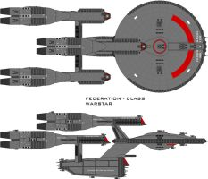 Warstar Federation by SciFiRocker