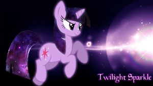 Twilight Sparkle - Universe Wallpaper by NightmareDashy
