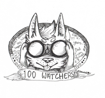 100 Watchers! by Misty-Icons