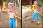 Dare Under Control - Dance Central cosplay by MishiroMirage