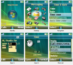 Windows Vista Theme for Sony Ericsson Mobile Phone by Vishal-Gupta