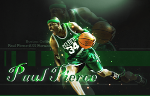 Paul Pierce Wallpaper by Garcho