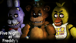 Five nights at Freddy's by YinyangGio1987