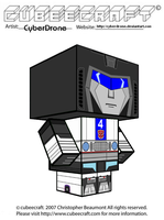 Cubeecraft - Jazz 'G1' by CyberDrone