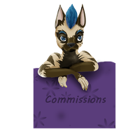 Little sign for commission sheet by HarvesterofPearls