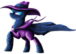The Mysterious Mare Do Well by PlatinumPegasister