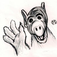 A sketch a day: Alf by Electagonist