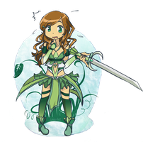 Finished Puella Design by Linkerbell
