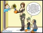 Happy hallowen by JagoDibuja