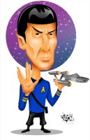 Tribute To Nimoy Final COLORS by CaziTena