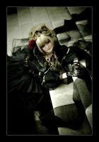 Hizaki: Cascades of organza by general-kuroru
