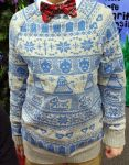 Doctor Who Christmas Sweater by MayuriMoon