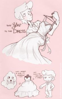 AT: Say Yes to the Dress by Cappuchi