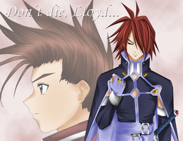 Kratos Thinx of Lloyd X3 by talesofsymphonia