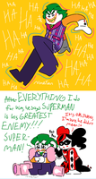 Batman's Greatest Enemy (spoilers) by NoneToon