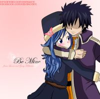 Be Mine... (Fairy Tail) Gray x Juvia ~Gruvia by xBebiiAnn