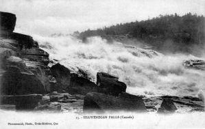 Chute Shawinigan-env.1900 by J-Bellemare