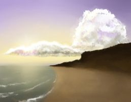 Sky, Sea and Clouds by longgi