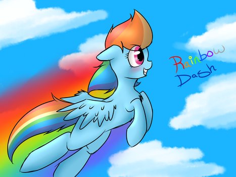 rainbow dash picture by voidless-rogue