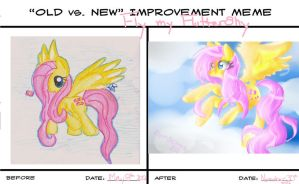 Fly My FlutterShy Improvement Meme by SilverSkittlez