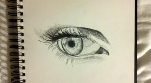 Eye sketch by KaitMacknick