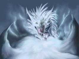 Owner of snow-bound mountains by InferaDragon