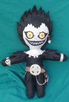 Ryuk Plushie by EddieDoezSewing