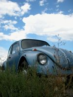 Slug Bug Blue Sky by shortzelda22