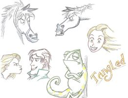 sketchAday 11 re tangled by jam-bad